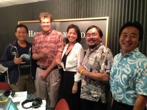 Sen. Wakai, Rep. McKelvey, Yuka Nagashima